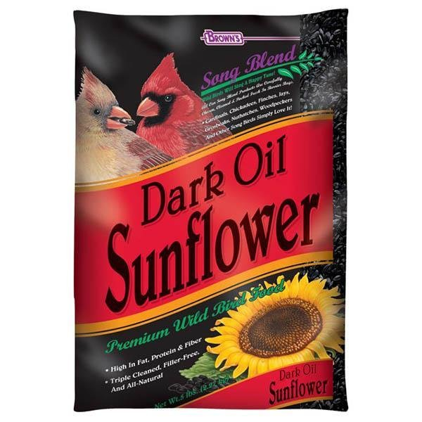 Dark Oil Sunflower 2 lb (15 in a case) - New York Bird Supply