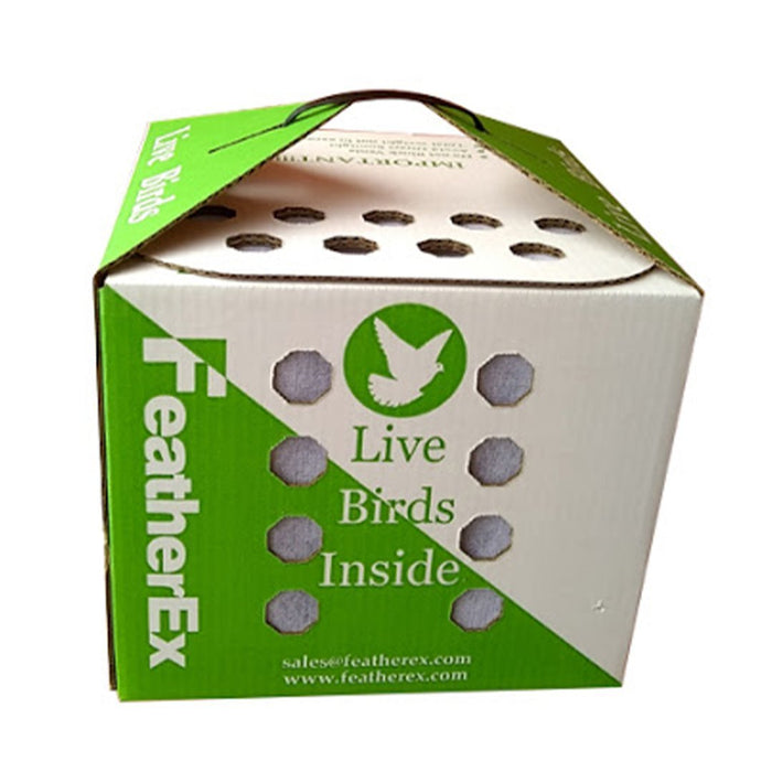 Feather Ex Shipping Box - New York Bird Supply