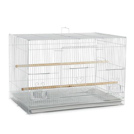 "Flight Cage White 24""x16""x16"" - New York Bird Supply"