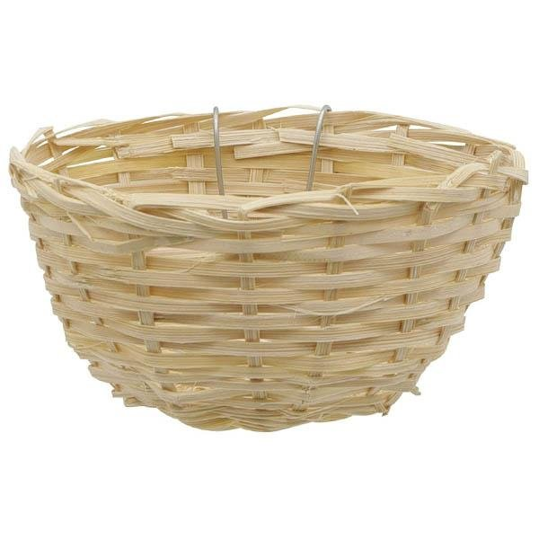 Hagen Living World Bamboo Bird Nest for Canaries - New York Bird Supply