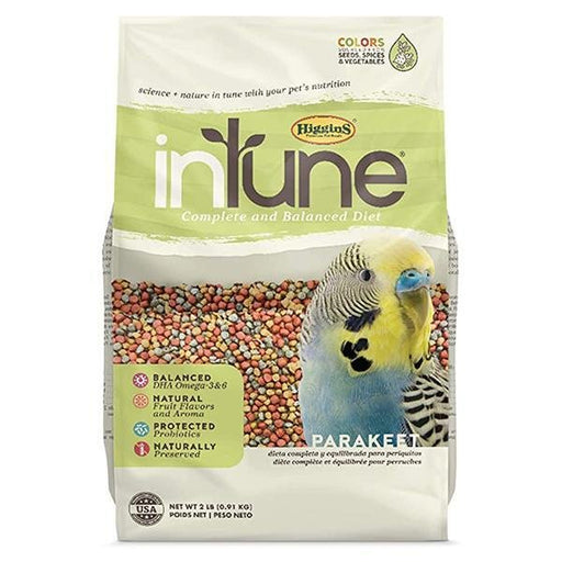Higgins inTune Complete & Balanced Diet Parakeet Food - New York Bird Supply