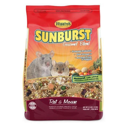 Higgins Sunburst Rat and Mouse - New York Bird Supply