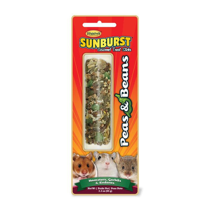 Higgins Sunburst Stick Peas & Beans For Hamsters, Gerbils, Mice & Other Rodents - New York Bird Supply