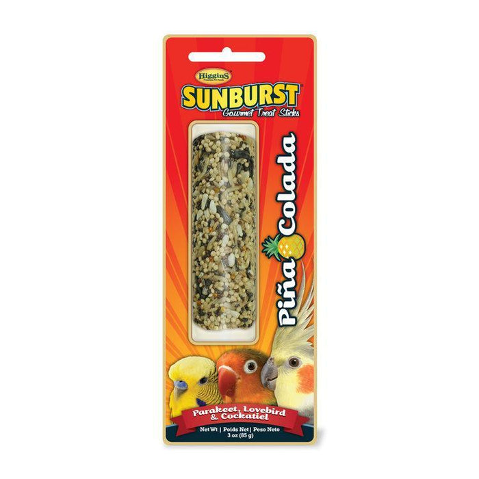Higgins Sunburst Stick Pina Colada For Parakeets, Lovebirds & Cockatiels - New York Bird Supply