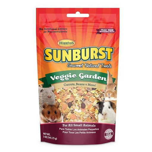 Higgins Sunburst Veggie Garden Gourmet Treats for Small Animals - New York Bird Supply