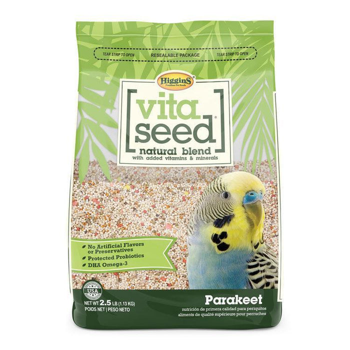 Higgins Vita Seed Parakeet - New York Bird Supply