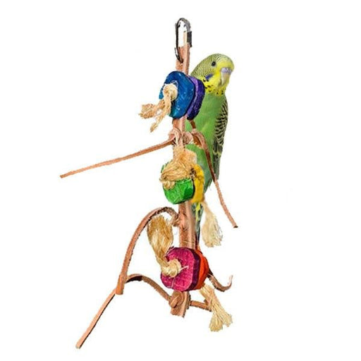 JS55 Small Button Toy - New York Bird Supply