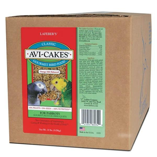 Lafeber Classic Avi Cakes for Parrot - New York Bird Supply
