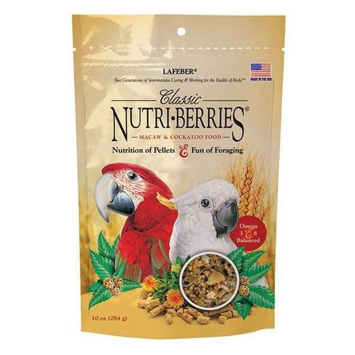 Lafeber Classic Nutri-Berries Macaw/Cockatoo - New York Bird Supply