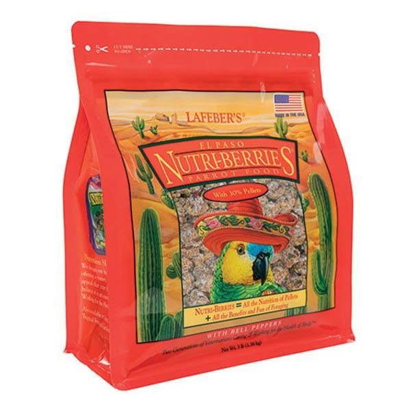 Lafeber El-Paso Nutri- Berries - New York Bird Supply