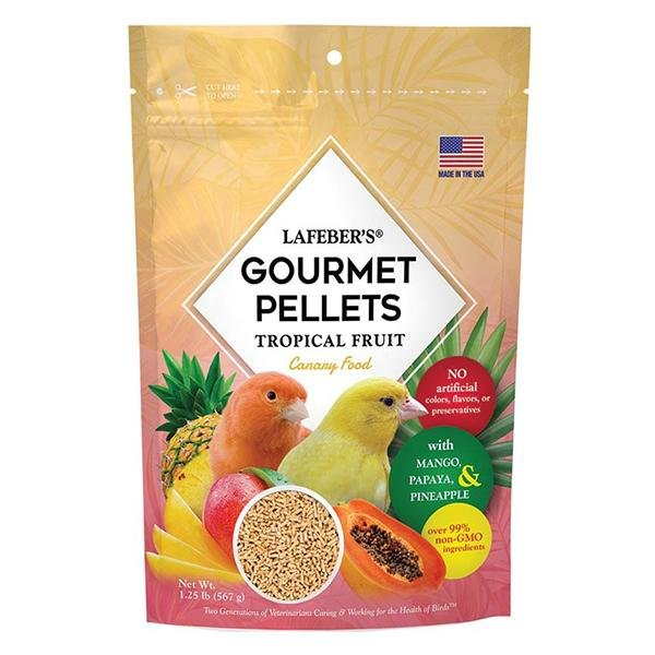 Lafeber Tropical Fruit Gourmet Pellets Canary - New York Bird Supply