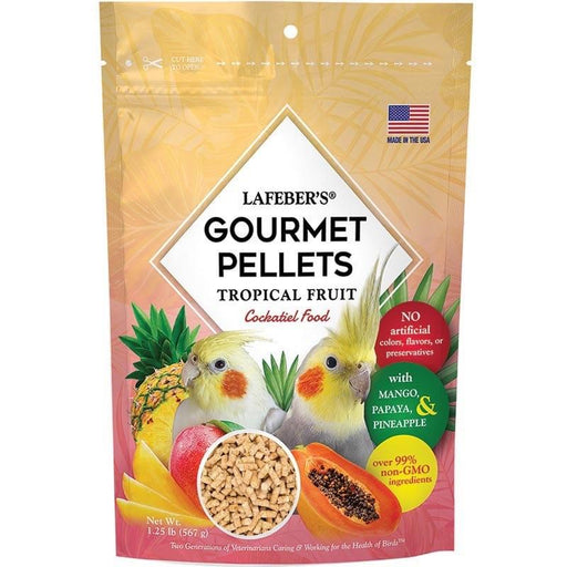 Lafeber Tropical Fruit Gourmet Pellets Cockatiel - New York Bird Supply