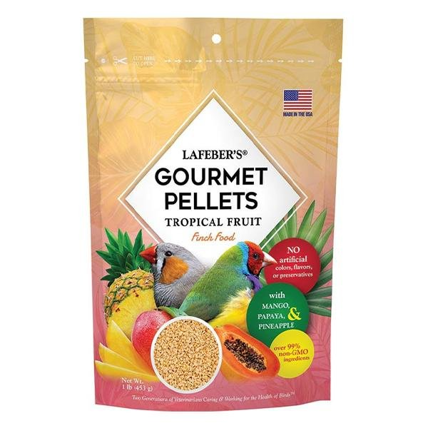 Lafeber Tropical Fruit Gourmet Pellets Finch - New York Bird Supply