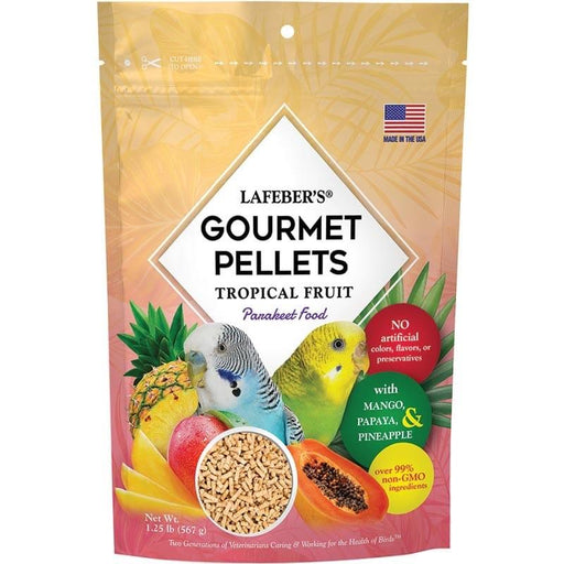 Lafeber Tropical Fruit Gourmet Pellets Parakeet - New York Bird Supply