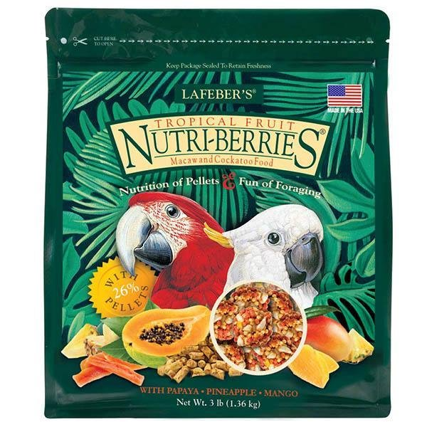 Lafeber Tropical Fruit Nutri-Berries Macaw - New York Bird Supply