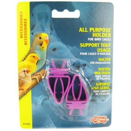All Purpose Holder for Bird Cages - New York Bird Supply