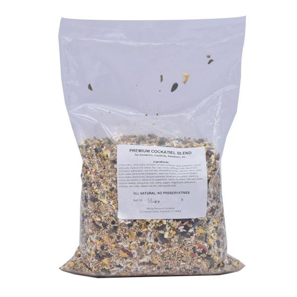 New England Premium Cockatiel Blend - New York Bird Supply