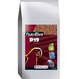 Nutribird P19 Tropical 10kg - New York Bird Supply