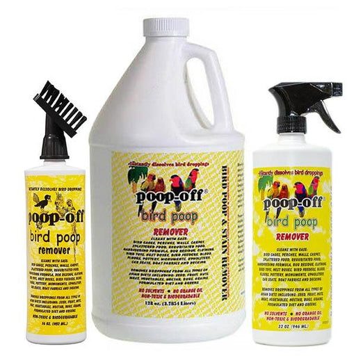 Poop-off Bird Cage Cleaner - New York Bird Supply