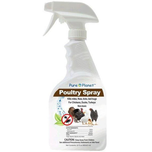 Pure Planet Poultry Spray - New York Bird Supply