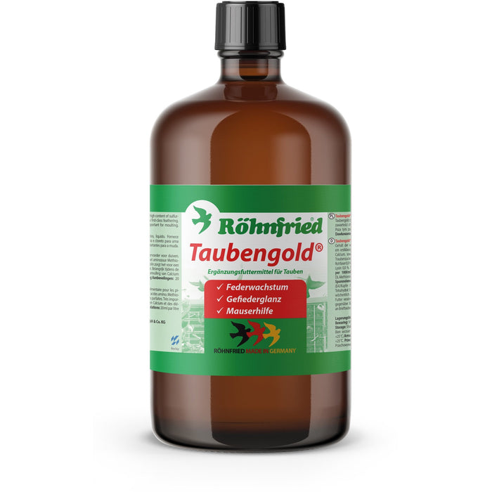 Rohnfried: Taubengold 1000 ml - New York Bird Supply