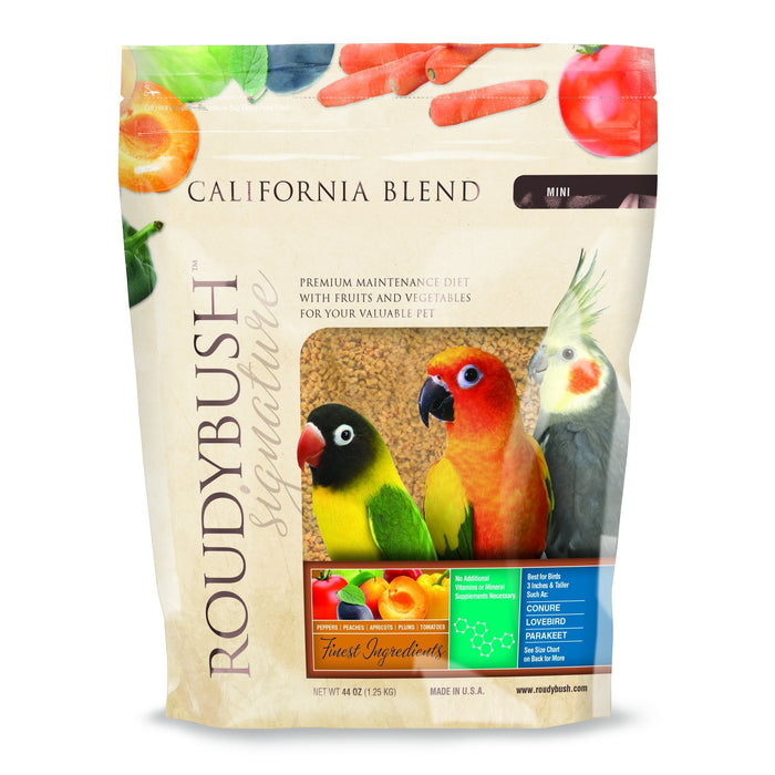 Roudybush California Blend Mini - New York Bird Supply