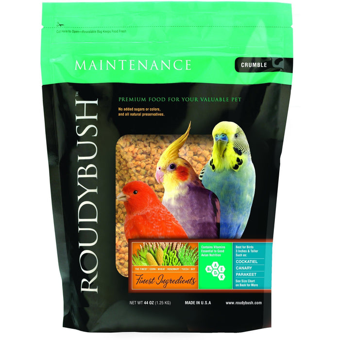 Roudybush Daily Maintenance Crumble - New York Bird Supply