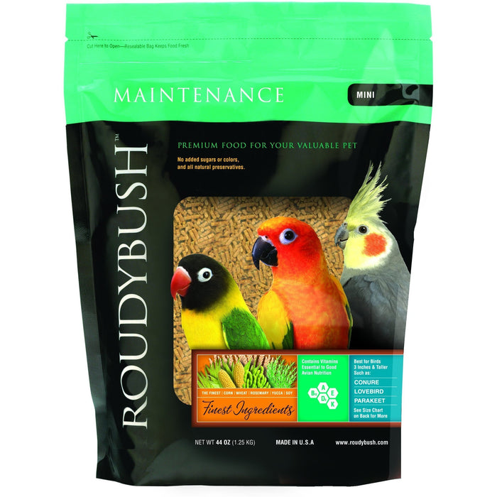 Roudybush Daily Maintenance Mini - New York Bird Supply