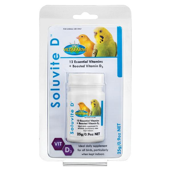 Vetafarm Soluvite D - New York Bird Supply