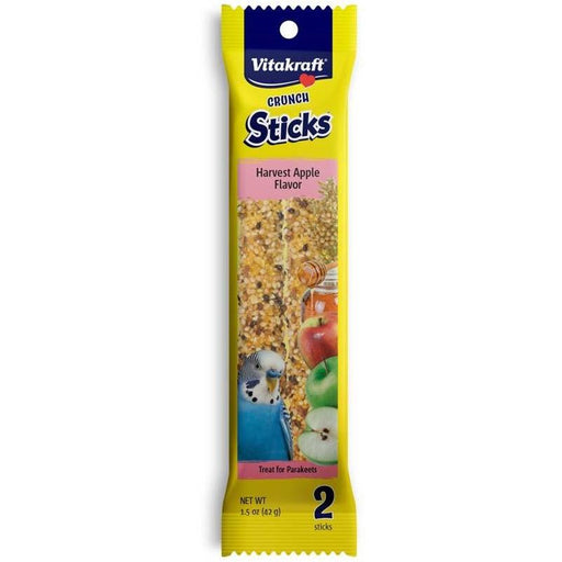 Vitakraft Parakeet Harvest Apple Sticks - New York Bird Supply