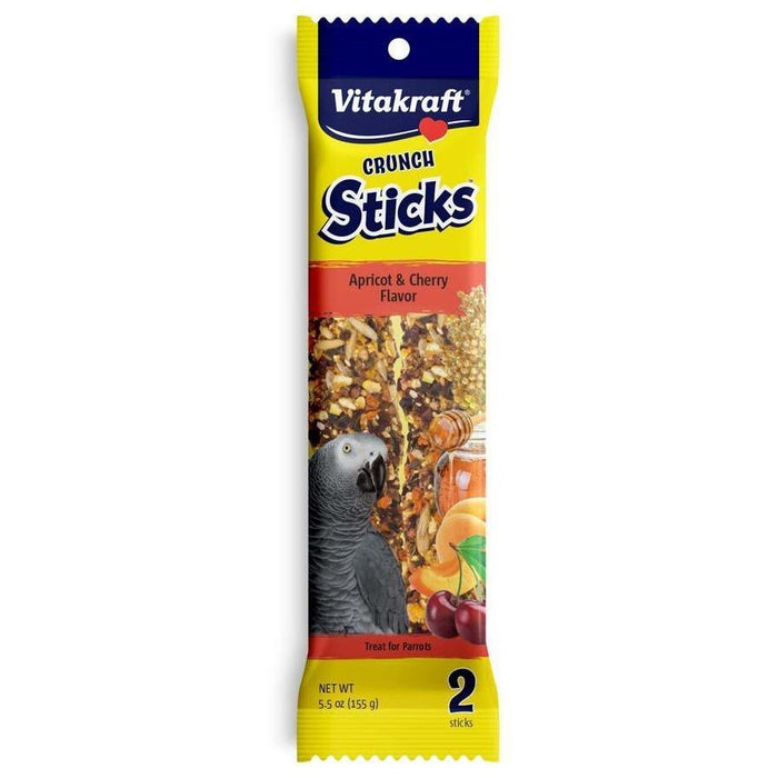 Vitarkaft Parrot Apricot Cherry Sticks - New York Bird Supply