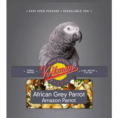 Volkman Avian Science African Grey 4lb - New York Bird Supply