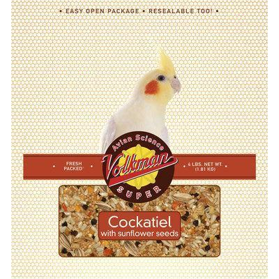 Volkman Avian Science Cockatiel with Sunflower 4lb - New York Bird Supply