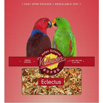 Volkman Avian Science Eclectus 4lb - New York Bird Supply