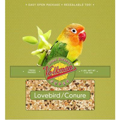 Volkman Avian Science Lovebird/Conure 4lb - New York Bird Supply