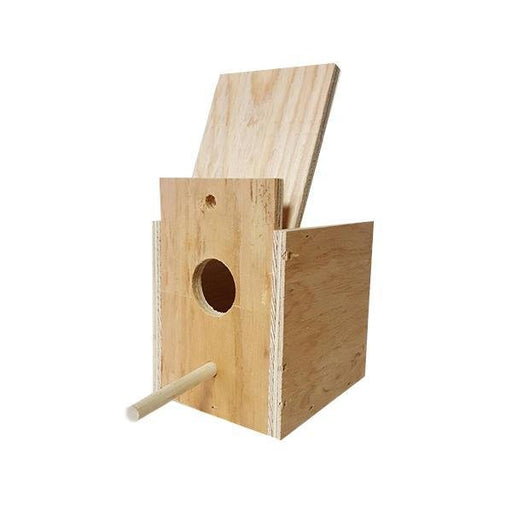 Wood Nestbox Finch - New York Bird Supply