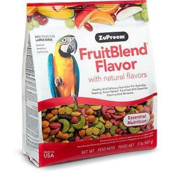 Zupreem Fruit Blend Large Bird (Macaws and Cockatoos) - New York Bird Supply