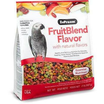 Zupreem Fruit Blend Medium/Large (Parrots and Conures) - New York Bird Supply