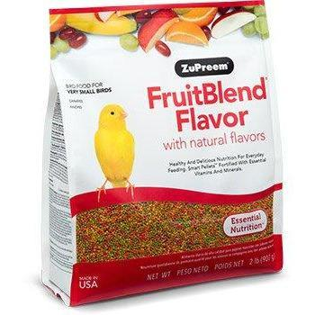 Zupreem Fruit Blend Very Small Bird (Canaries and Finches) - New York Bird Supply