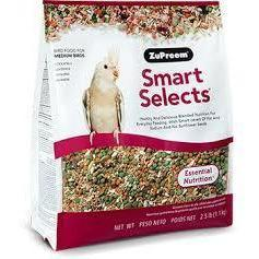 Zupreem Smart Selects Medium Bird (Cockatiel) - New York Bird Supply