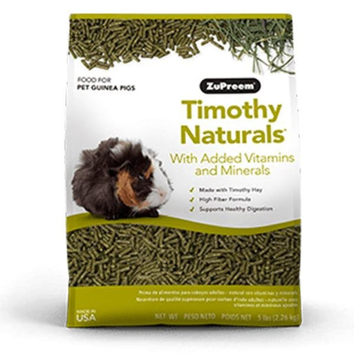 ZuPreem Timothy Naturals Guinea Pig Food - New York Bird Supply