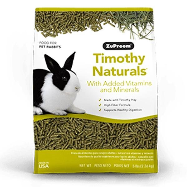 ZuPreem Timothy Naturals Rabbit Food - New York Bird Supply