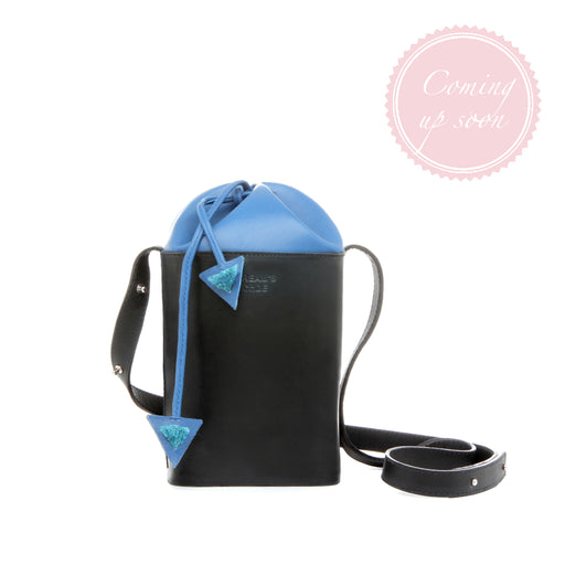 BLUE FLAKE bucket bag