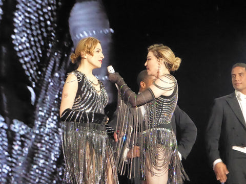 Material Girl PR and Madonna on Stage