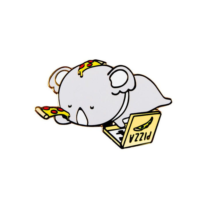 Pizza Enamel Pin - Luna Koala