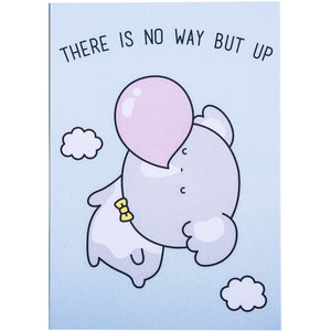 There Is No Way But Up A5 Print - Luna Koala