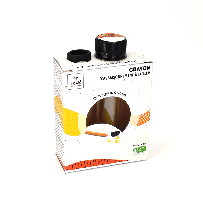 COFFRET 1 CRAYON | Orange & cumin (BIO)