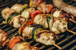 Praire Dust Chicken Kabobs
