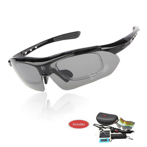 Professional Polarized Cycling Sunglasses UV 400 With 5 Lens TR90 - The Deal Finder