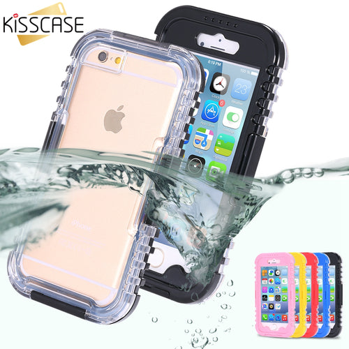 KISSCASE Waterproof Swimming Pouch Cover for iPhone - The Deal Finder